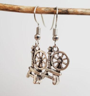 Spinnrock örhängen